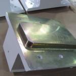 Machined weldment