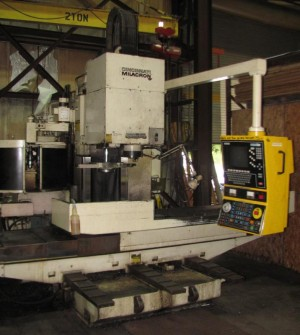 Cincinnati Milacron 15VC-1500 vertical mill
