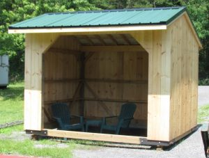 Locally-source shed