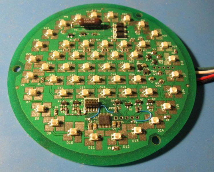 LED lighting prototype